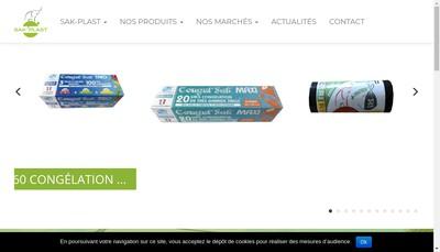 Site internet de Sak-Plast