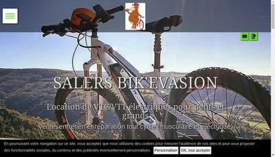 Site internet de Salers Bik'Evasion