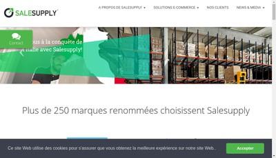 Site internet de Salesupply