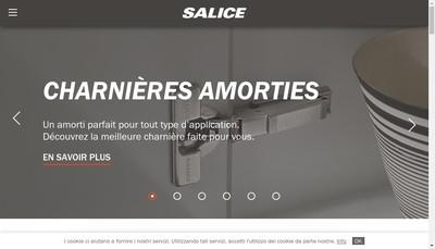 Site internet de Salice France
