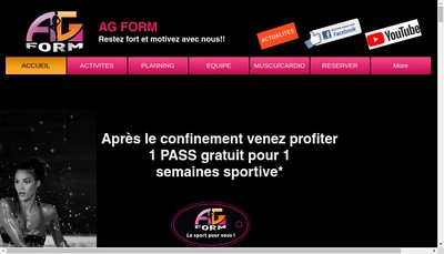 Site internet de Ag Form