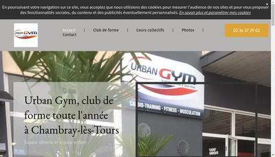 Site internet de Urban Gym