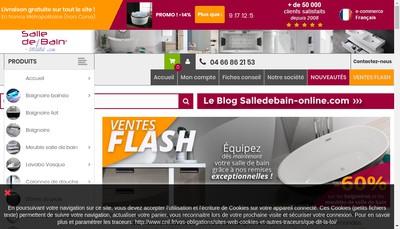 Site internet de Distribain