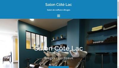 Site internet de Le Salon Cote Lac