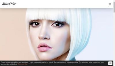 Site internet de Nouvel'Hair