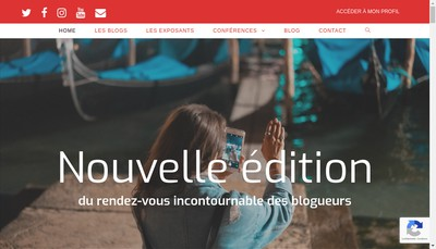 Site internet de We Are Travel