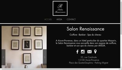 Site internet de Salon Renaissance