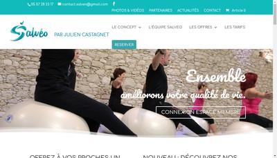 Site internet de Salveo Forme & Detente