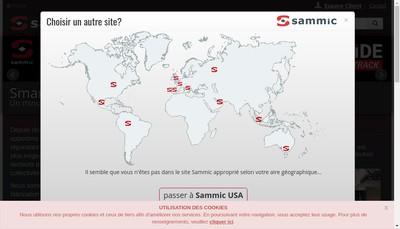 Site internet de Sammic