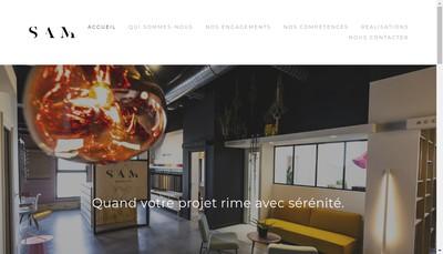 Site internet de Sam Renovation