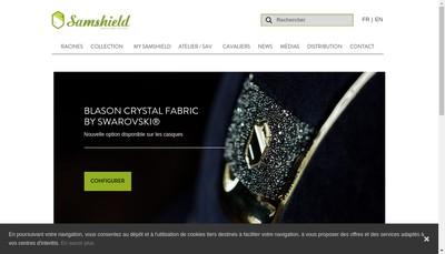 Site internet de Samshield
