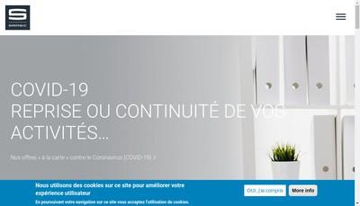 Site internet de Samsic