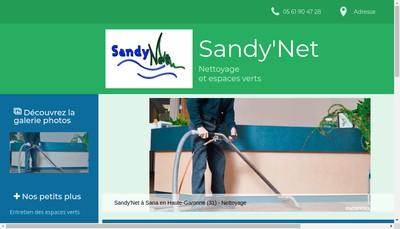 Site internet de Sandy'Net