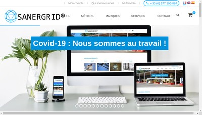 Site internet de Sanergrid