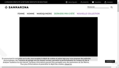 Site internet de San Marina