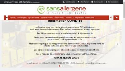 Site internet de La Boutique Diet'Ethique