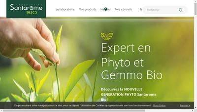 Site internet de Santarome
