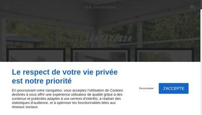 Site internet de SARL Santarossa