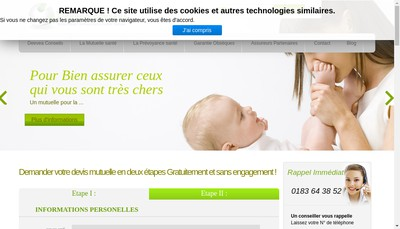 Site internet de Prevealys