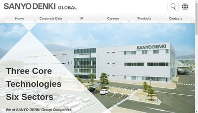 Site internet de Sanyo Denki Europe SA