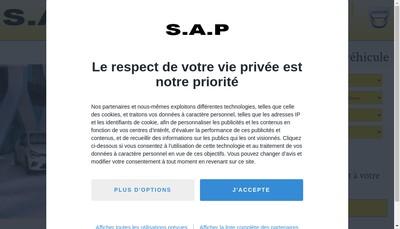 Site internet de Societe Automobile Polinoise