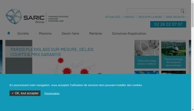 Site internet de Saric