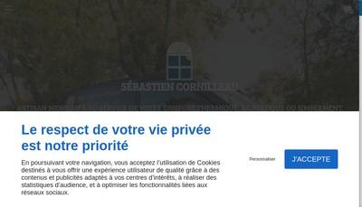 Site internet de Cornilleau Sebastien