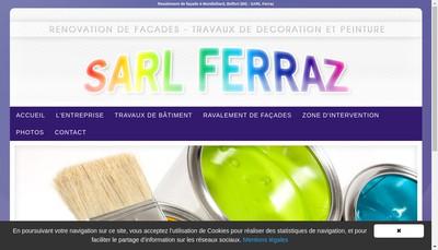 Site internet de Ferraz SARL