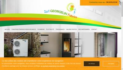 Site internet de Georgelin Fabrice