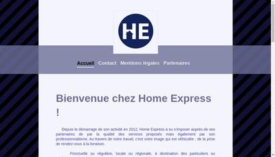 Site internet de Home Express