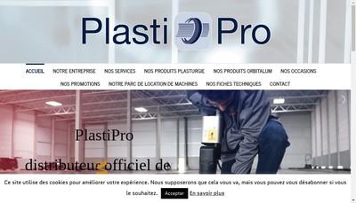 Site internet de Plastipro