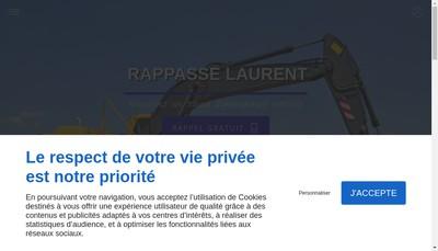 Site internet de Rappasse Laurent
