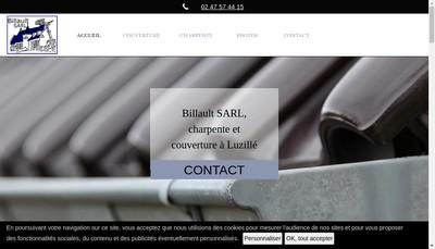 Site internet de SARL Billault