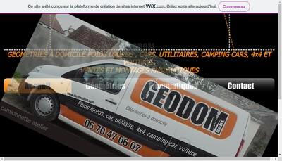 Site internet de Geodom
