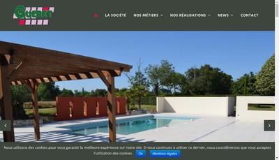 Site internet de Gueret du Pays Loudunais