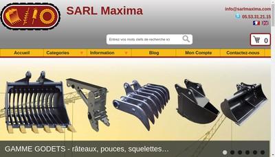 Site internet de Maxima