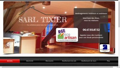Site internet de Tixier