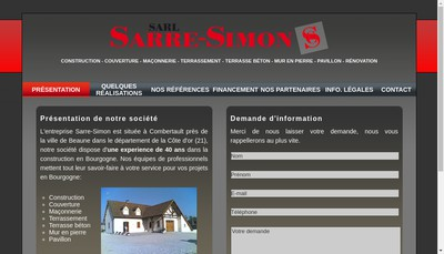 Site internet de Sarre