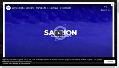 Site internet de Sarrion Normandie