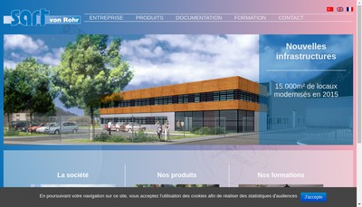 Site internet de Sart-Von Rohr