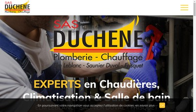 Site internet de SAS Duchene