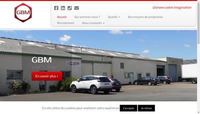 Site internet de GBM