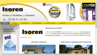 Site internet de Isoren