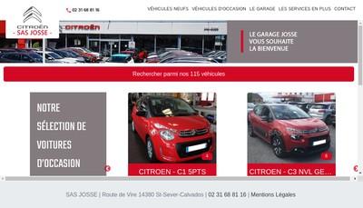 Site internet de SA Josse