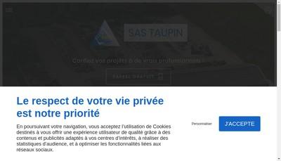 Site internet de Taupin