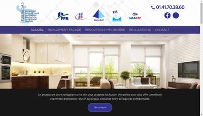 Site internet de SAS Pereira