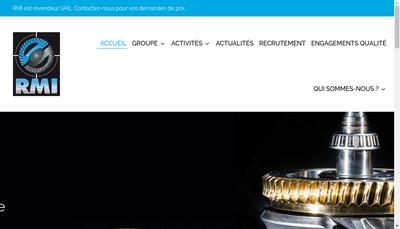 Site internet de Renovation Machines Industrielles