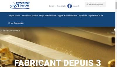 Site internet de Sastre Graveur