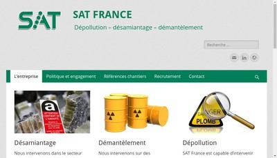 Site internet de Sat France