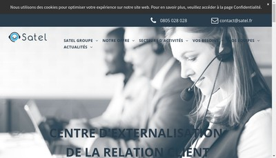 Site internet de Satel
